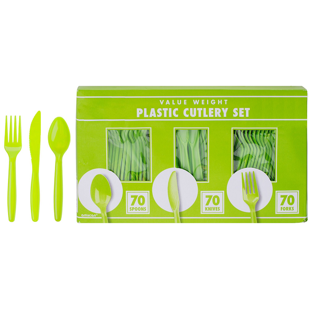 Neon Party Tableware Kit for 32 Guests Image #8