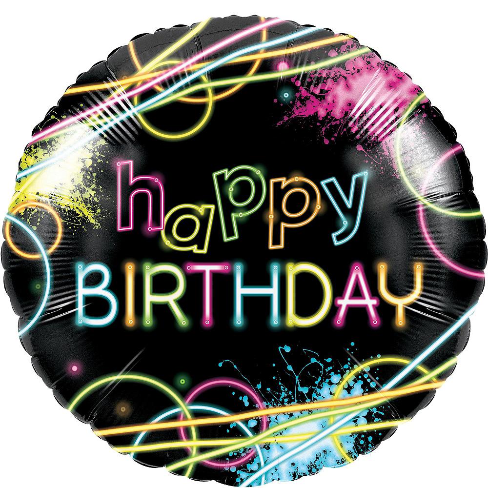 Neon Party Balloon Kit Image #6