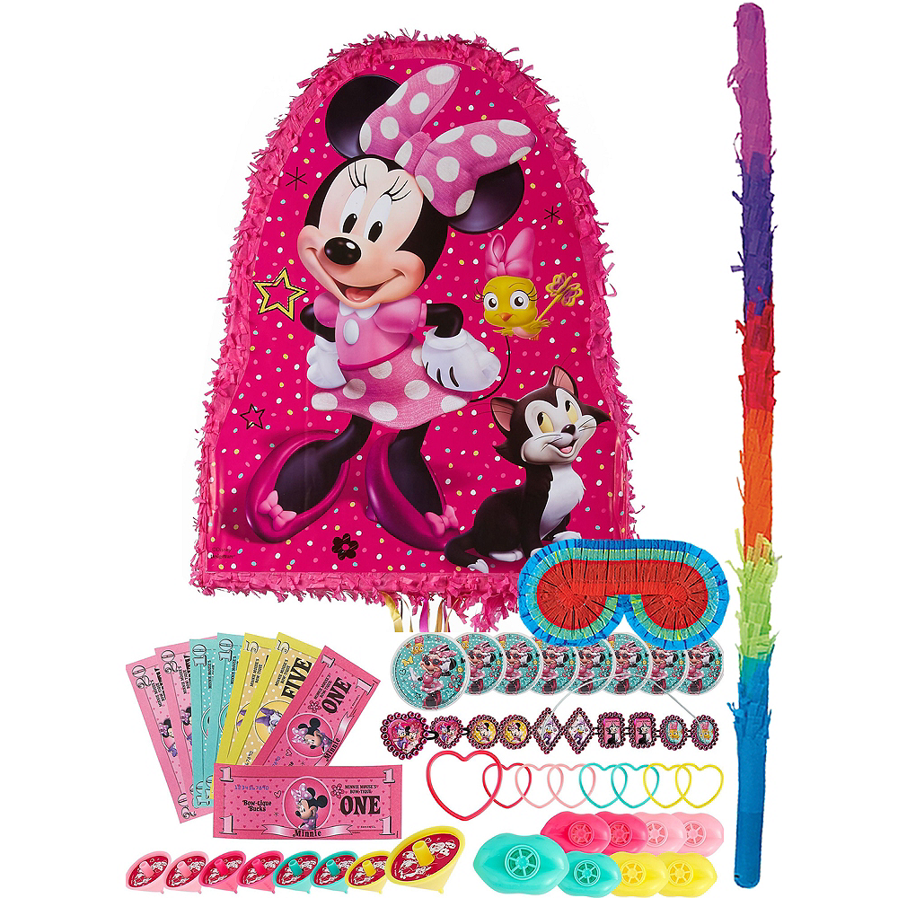 Bow-Toons Minnie Mouse Pinata Kit with Favors Image #1