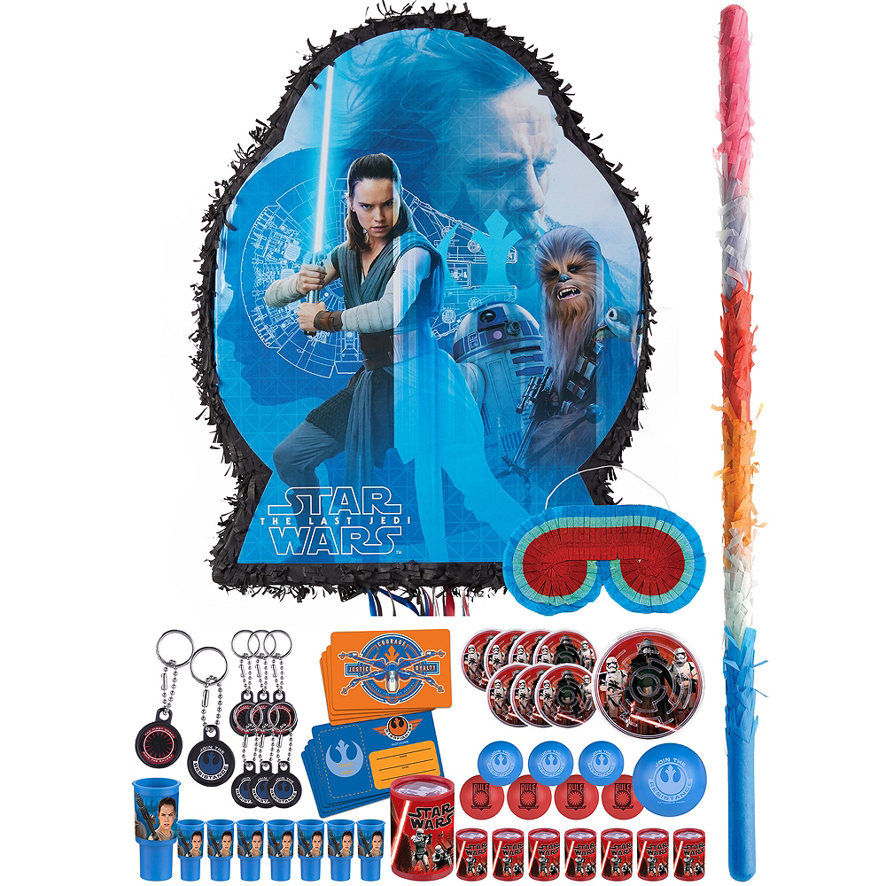 Star Wars 8 The Last Jedi Pinata Kit with Favors Image #1