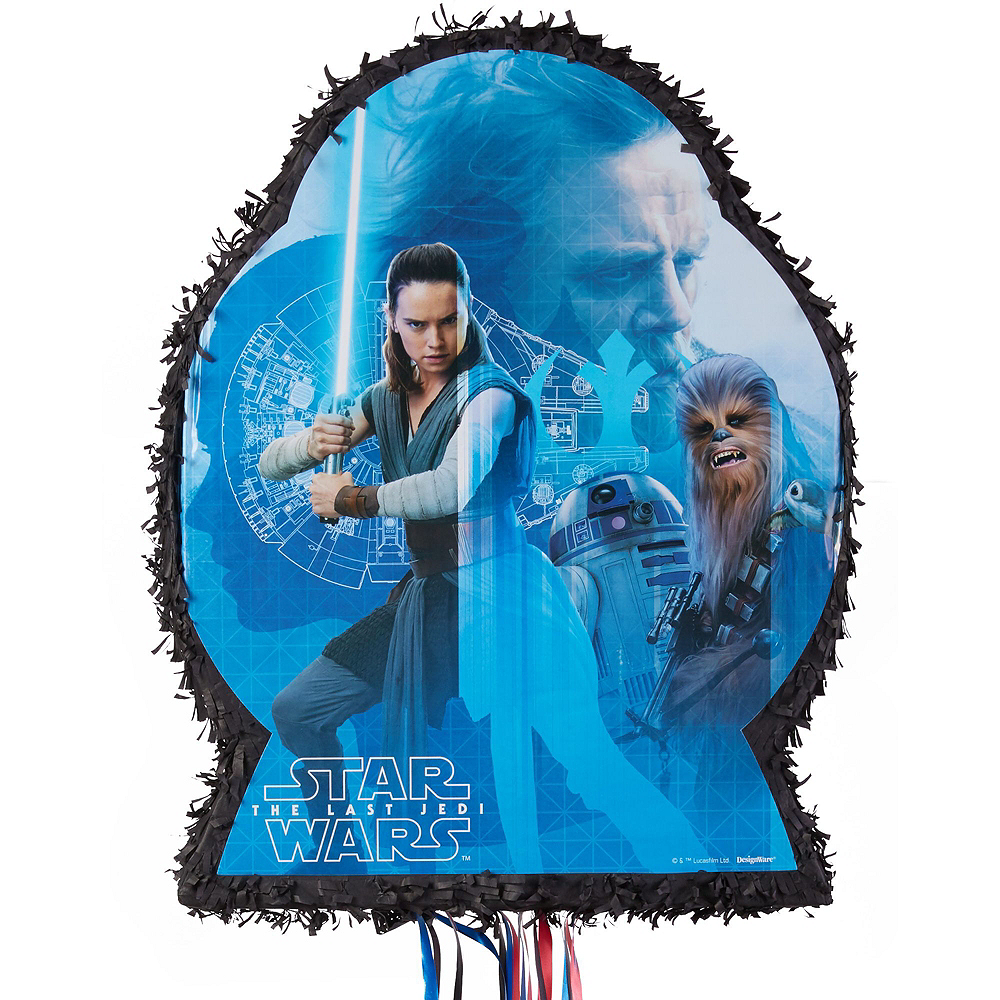 Star Wars 8 The Last Jedi Pinata Kit with Favors Image #2