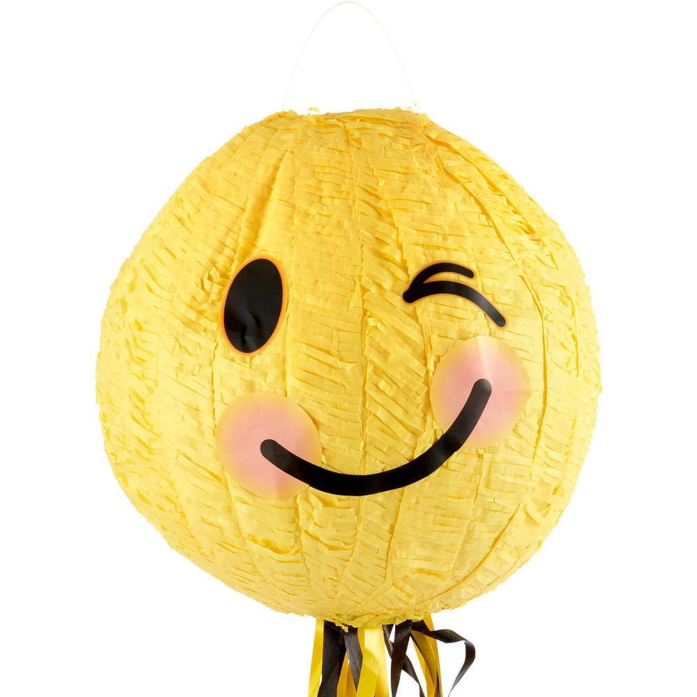 Winking Smiley Pinata Kit with Favors Image #5