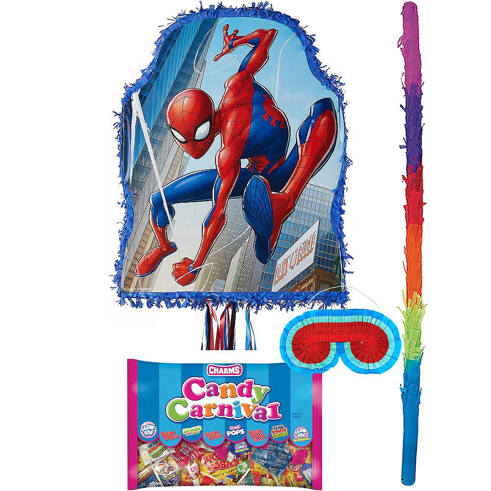 Blue Spider-Man Pinata Kit Image #1