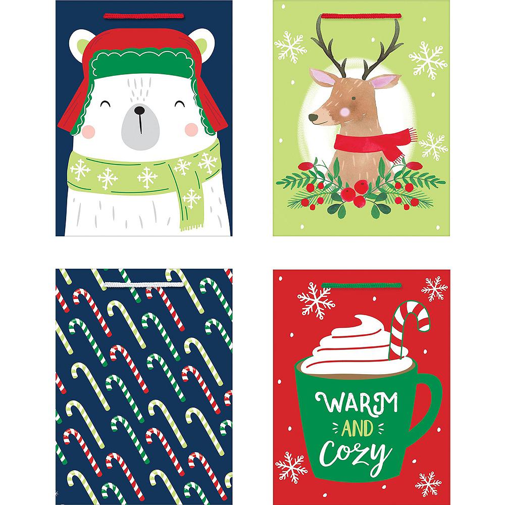 Traditional Christmas Gift Bag Kit Image #2
