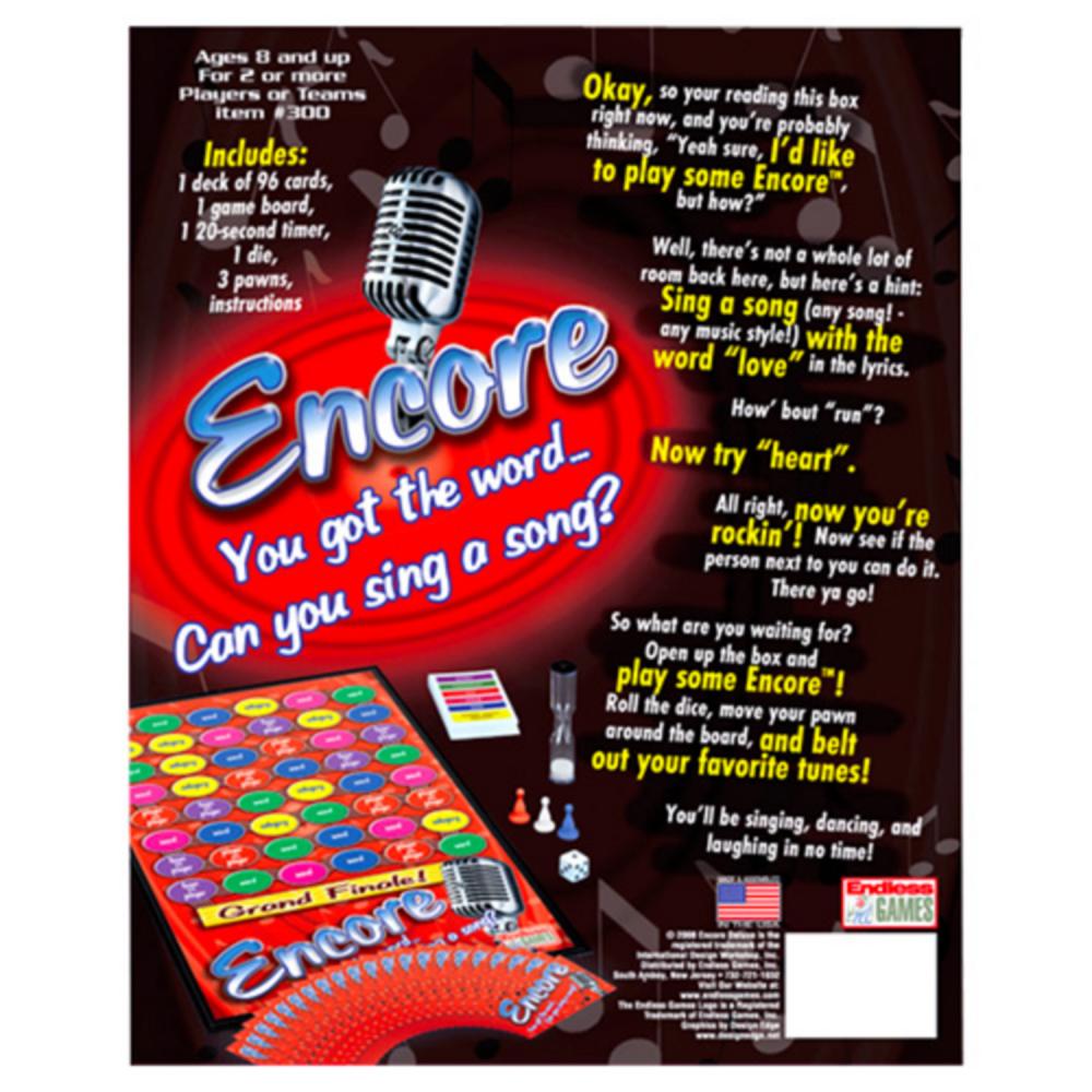 Encore Board Game Image #3