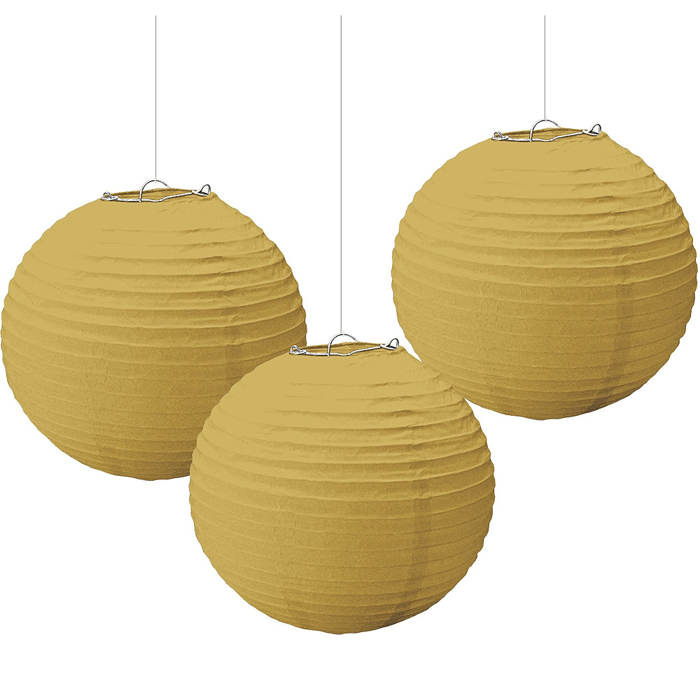 White & Gold 80th Birthday Decorating Kit with Balloons Image #7