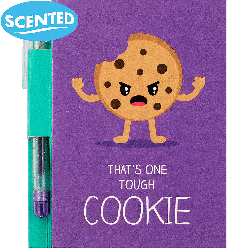 Sketch & Sniff Cookie Notepad with Pen Image #1