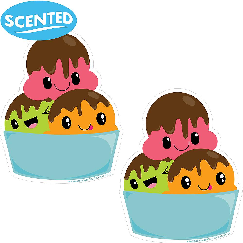 Jumbo Smickers Tutti Frutti Scratch & Sniff Stickers 2ct Image #1
