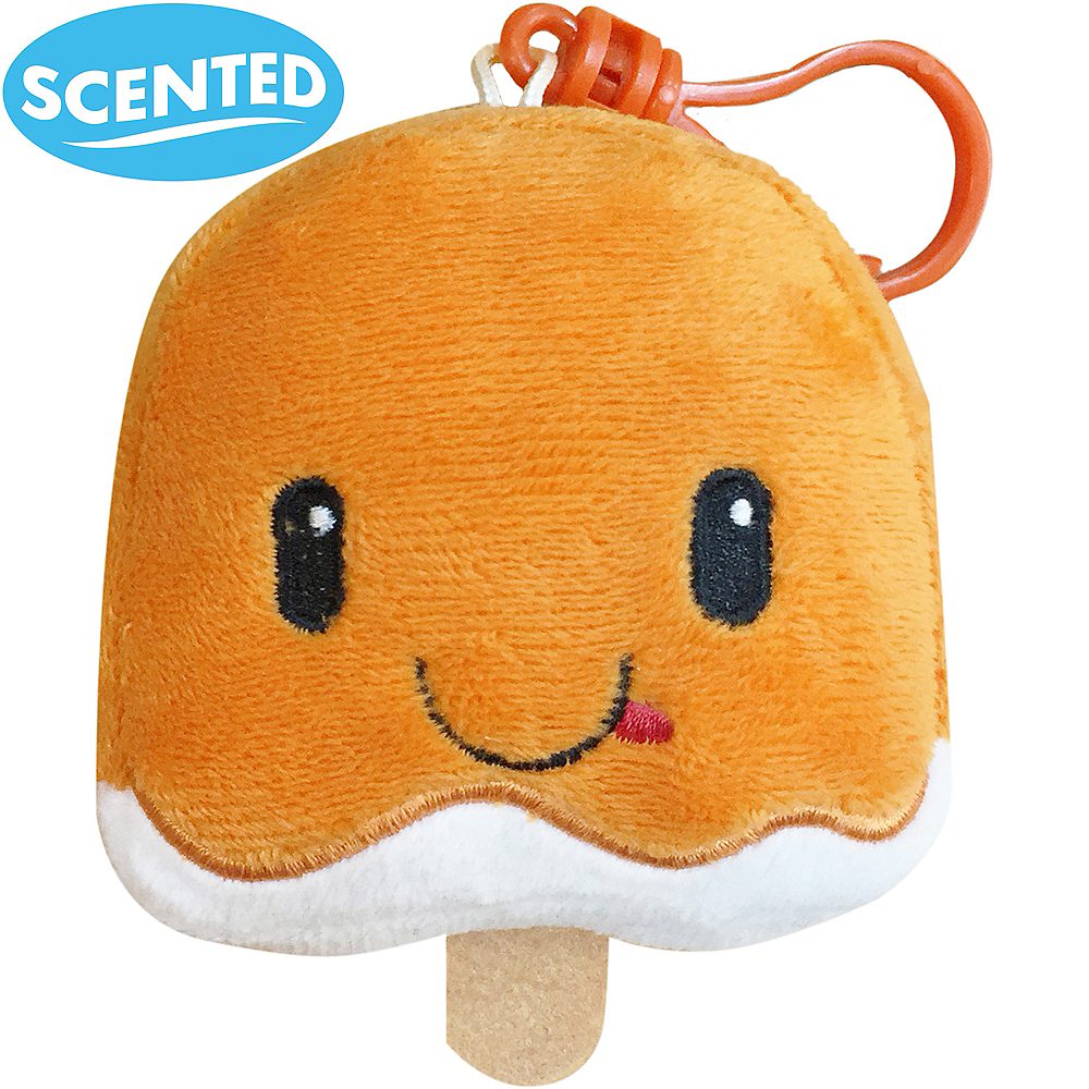 Clip-On Creamsicle-Scented Backpack Buddies Plush Image #1