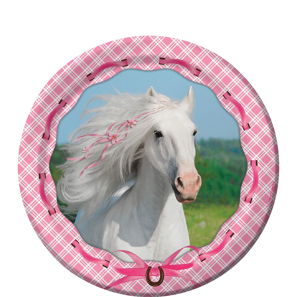 Heart My Horse Tableware Party Kit for 8 Guests Image #2