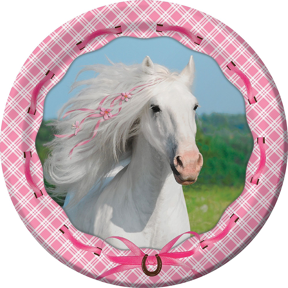 Heart My Horse Tableware Party Kit for 8 Guests Image #3