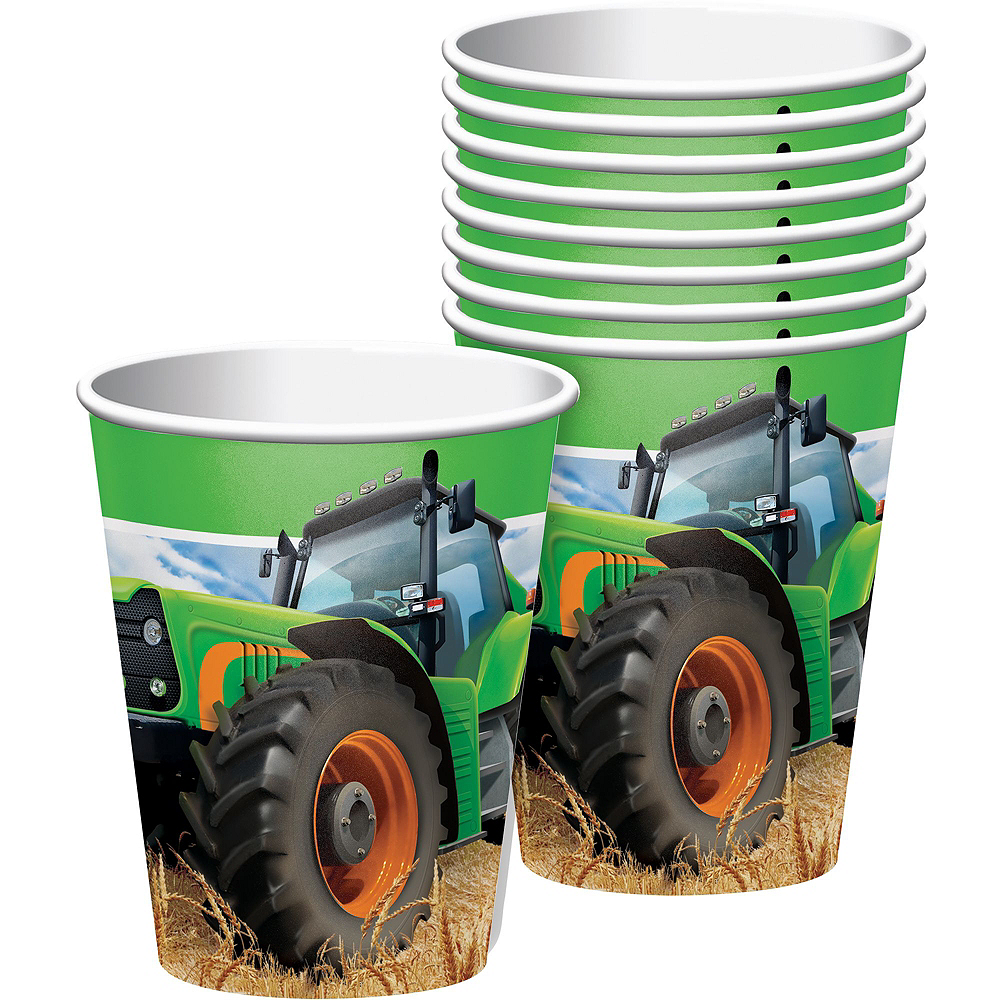 Tractor  Tableware Party Kit for 16 Guests Image #6