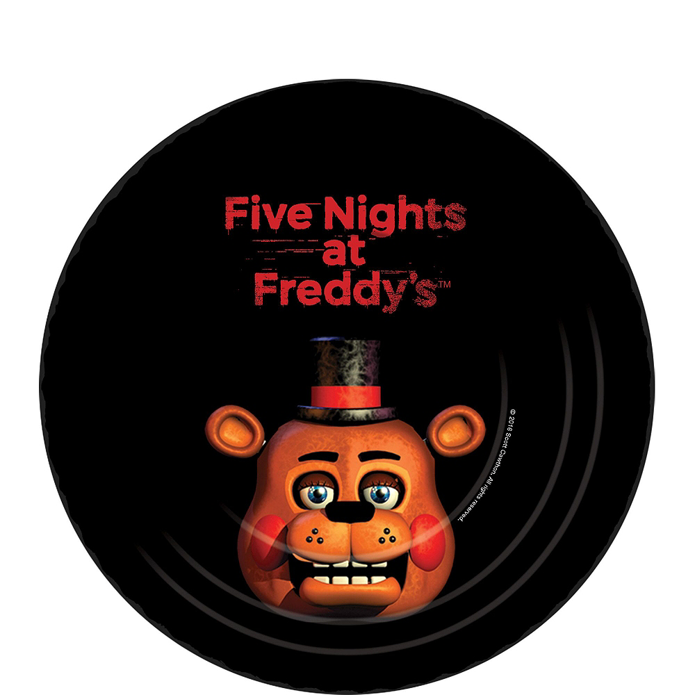 Nav Item for Five Nights at Freddy's Tableware Party Kit for 8 Guests Image #2