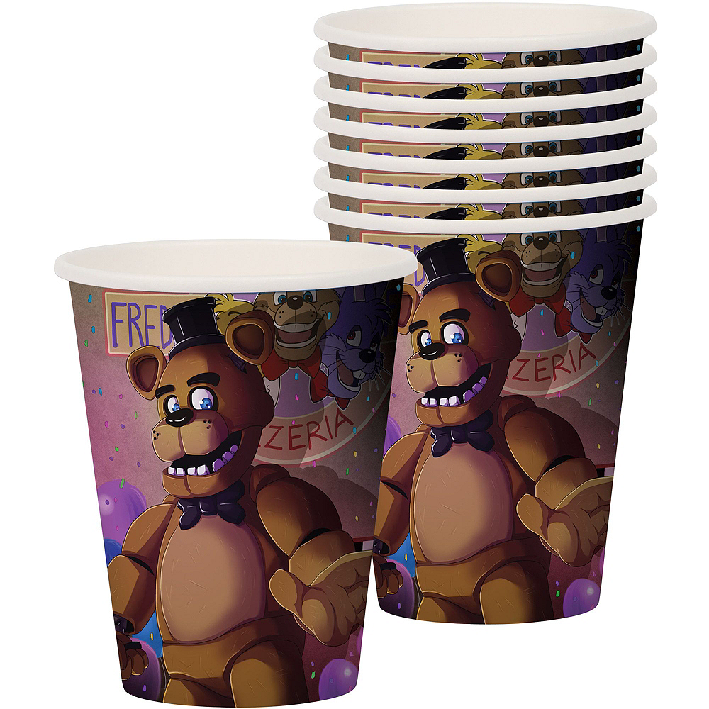 Five Nights at Freddy's Tableware Party Kit for 16 Guests Image #6