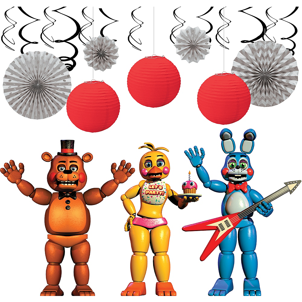 Five Nights at Freddy's Decorating Kit Image #1