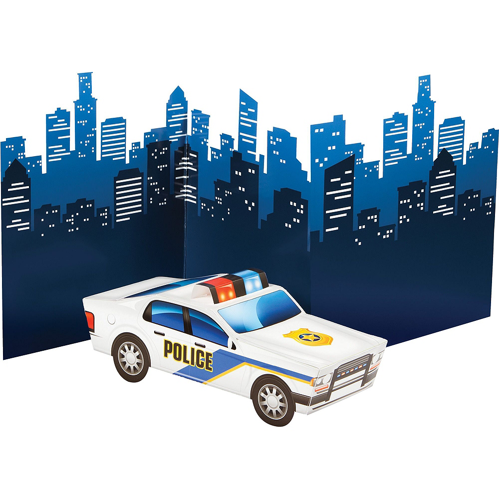Police Tableware Party Kit for 8 Guests Image #9