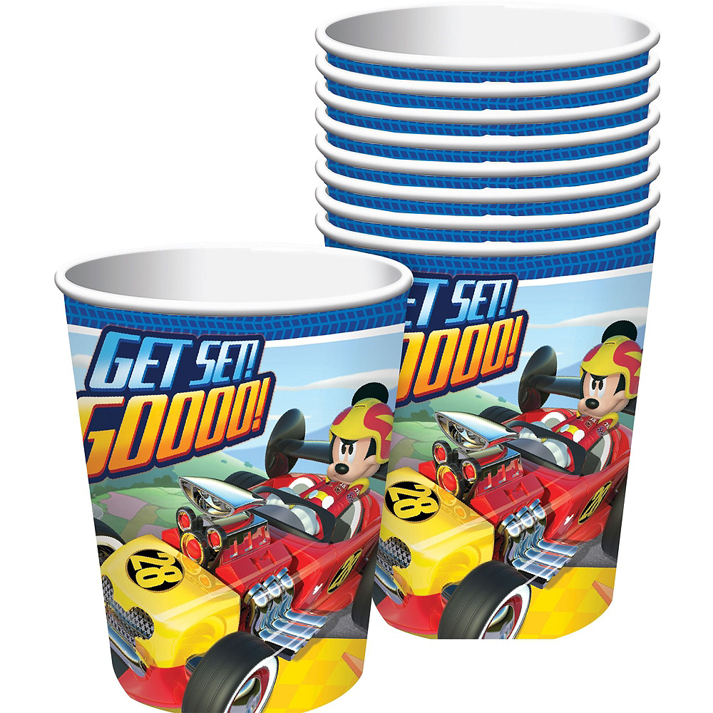 Mickey Mouse Roadster Tableware Party Kit for 16 Guests Image #6