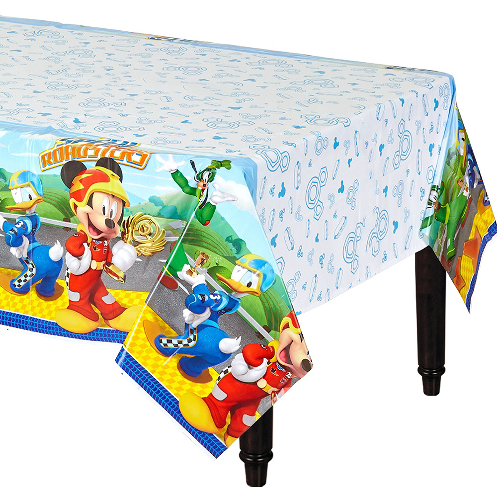 Mickey Mouse Roadster Tableware Party Kit for 16 Guests Image #9