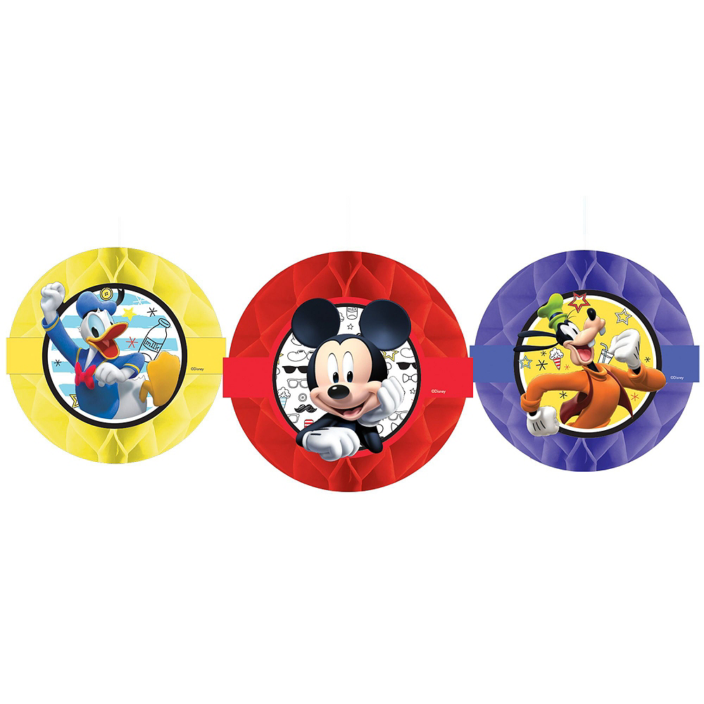 Mickey Mouse Roadster Tableware Ultimate Kit for 16 Guests Image #13