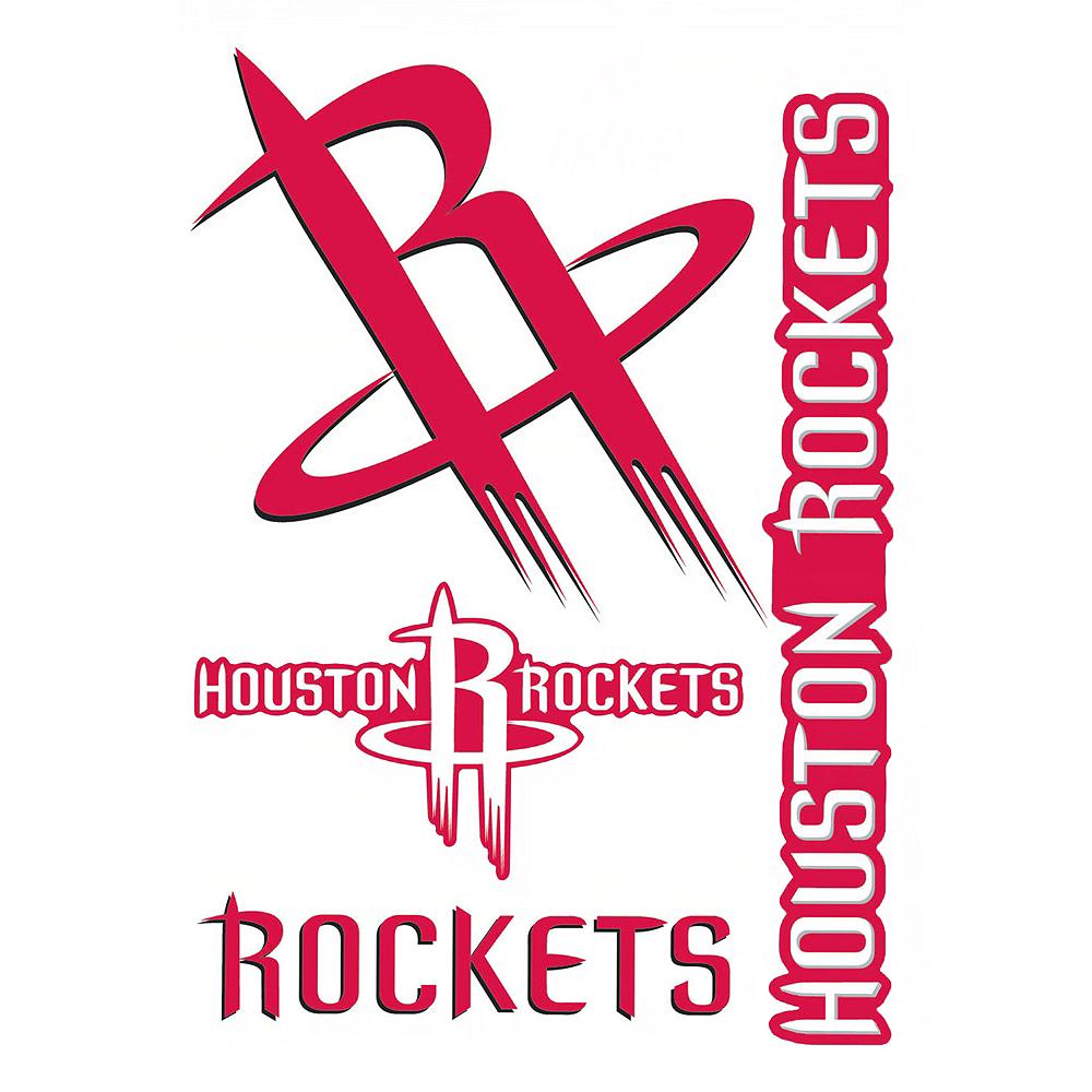 Houston Rockets Decals 5ct Image #1