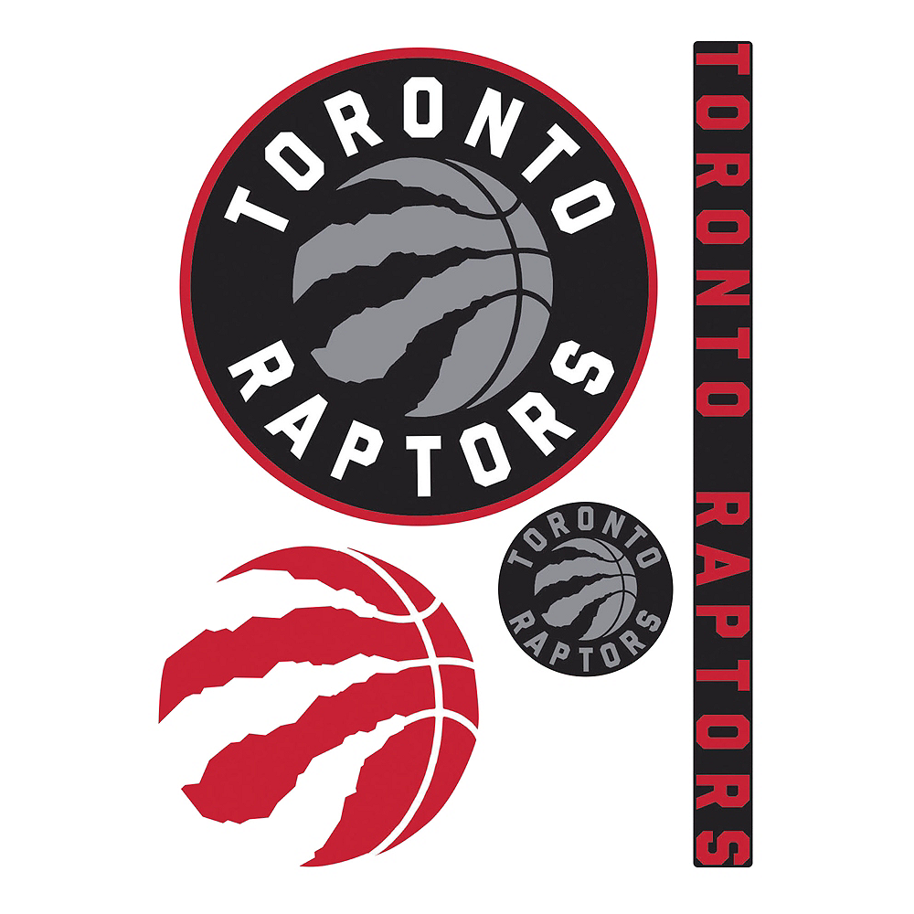 Toronto Raptors Decals 4ct Image #1