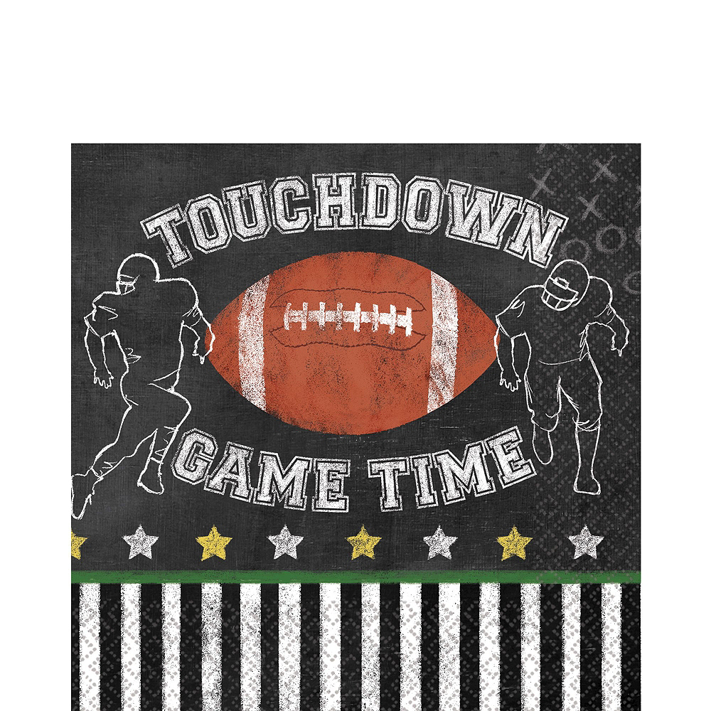 Football Game Time Party Kit for 36 Guests Image #5