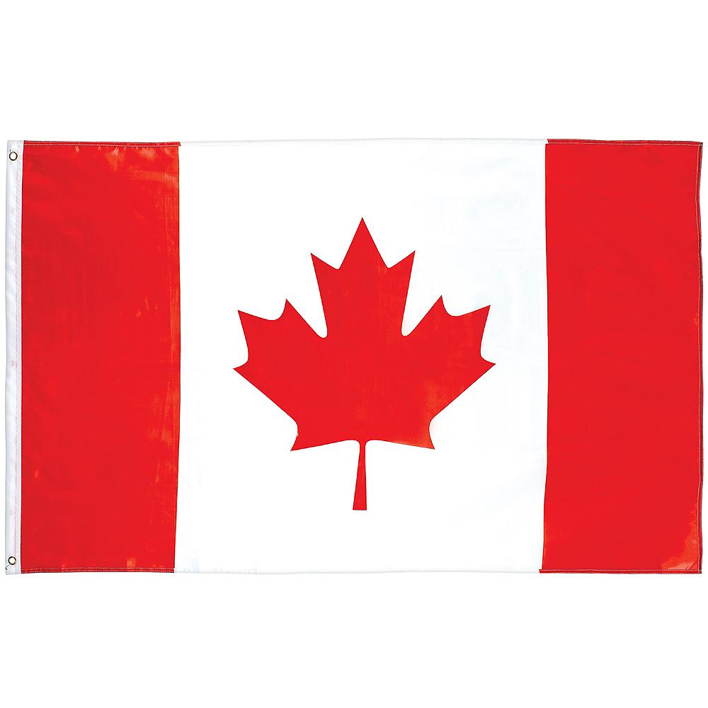 Large Canadian Flag Image #1