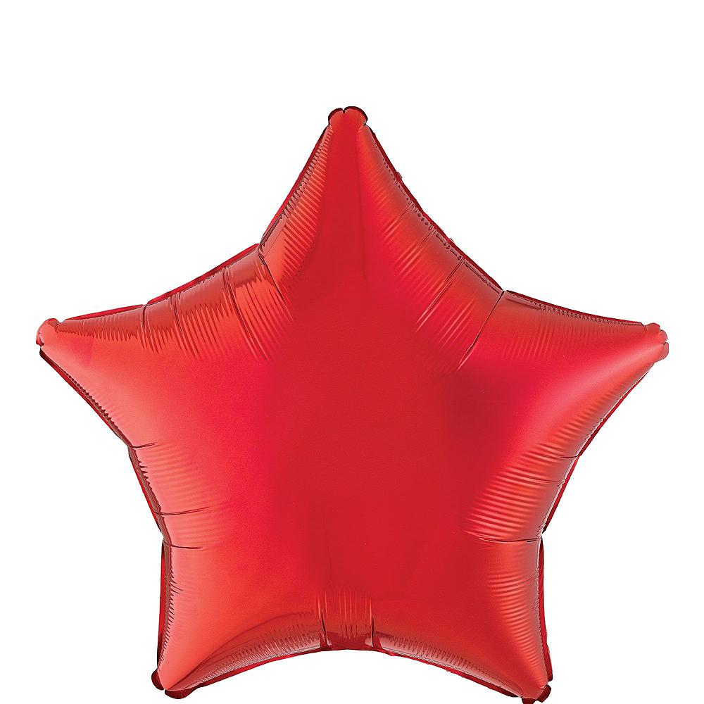 Atlanta Hawks Balloon Bouquet 5pc Image #2