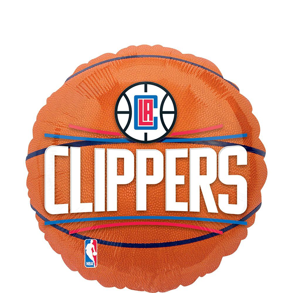 LA Clippers Balloon Bouquet 5pc Image #4
