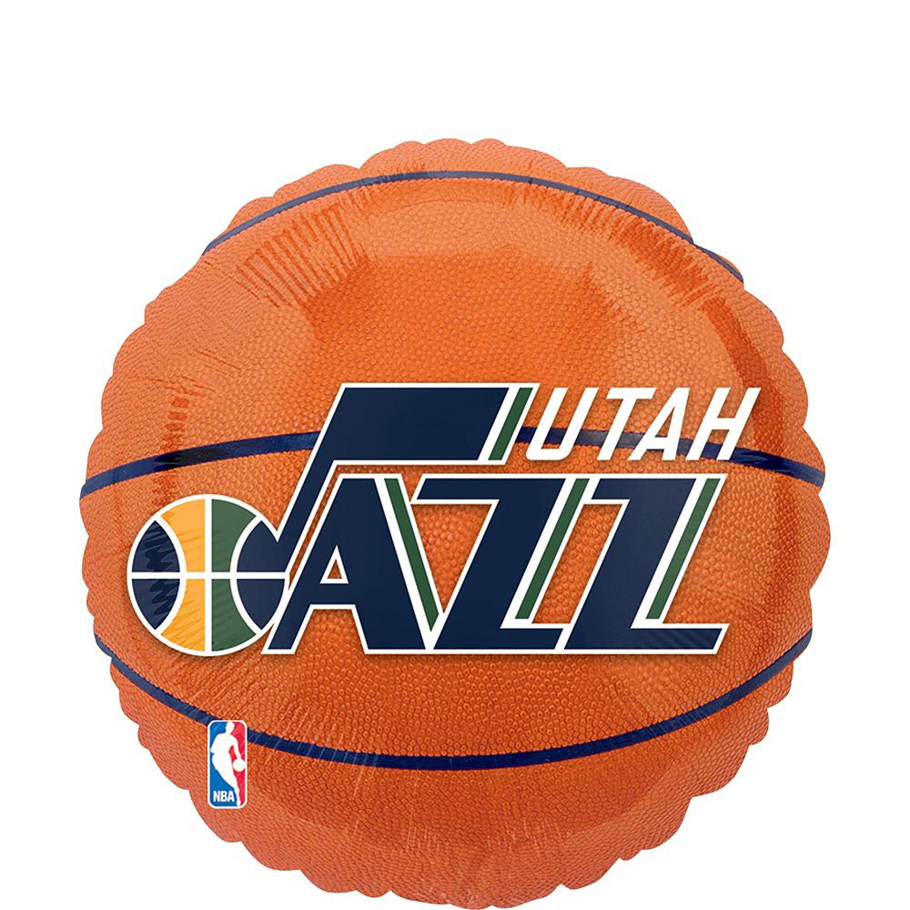 Utah Jazz Balloon Bouquet 5pc Image #4