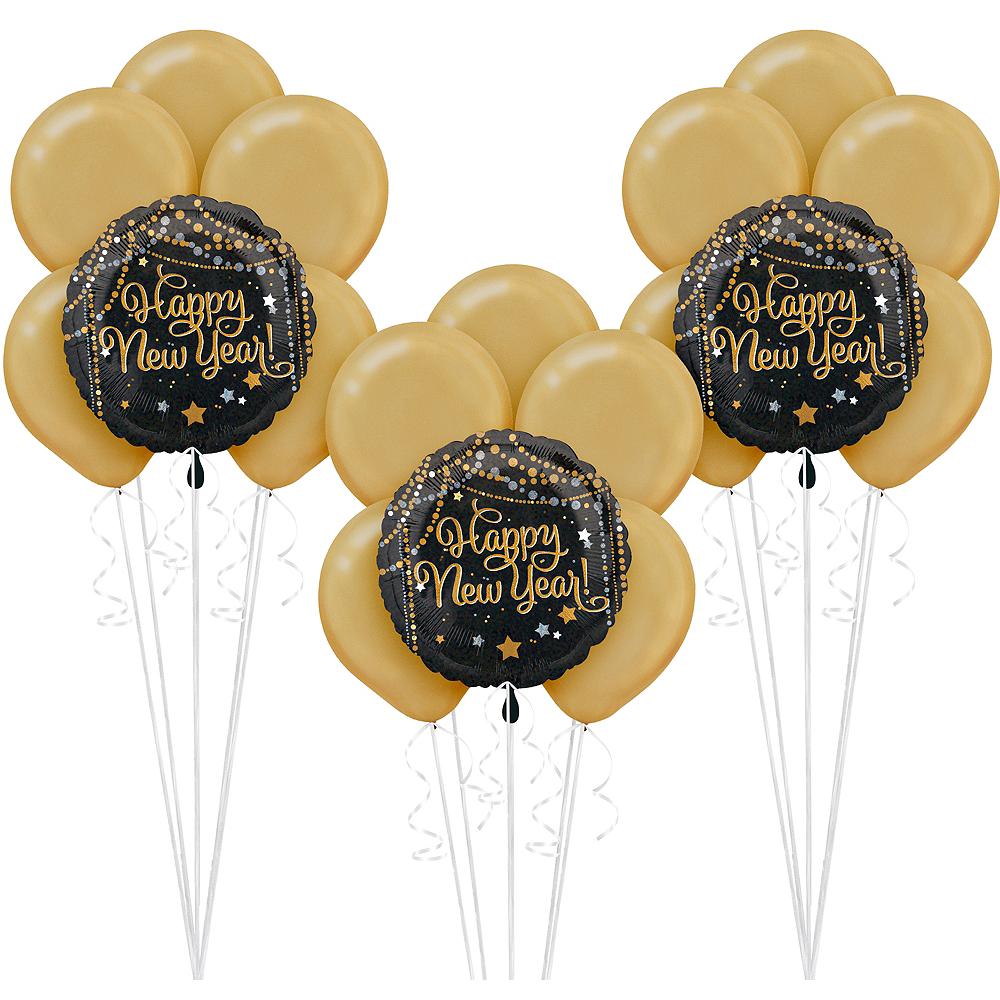 Happy New Year Balloon Kit Image #1