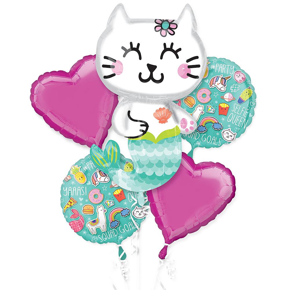 Selfie Celebration Balloon Bouquet 5pc Image #1