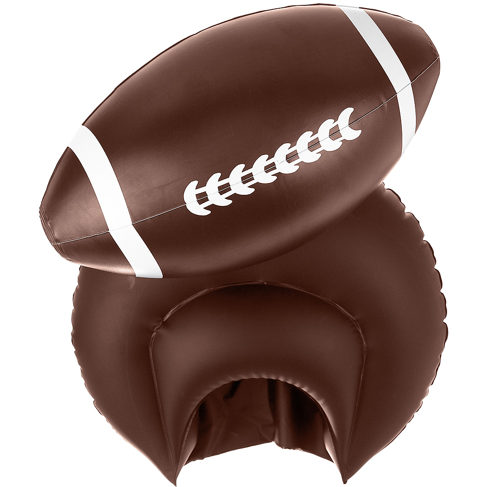Inflatable Football Hat Image #2