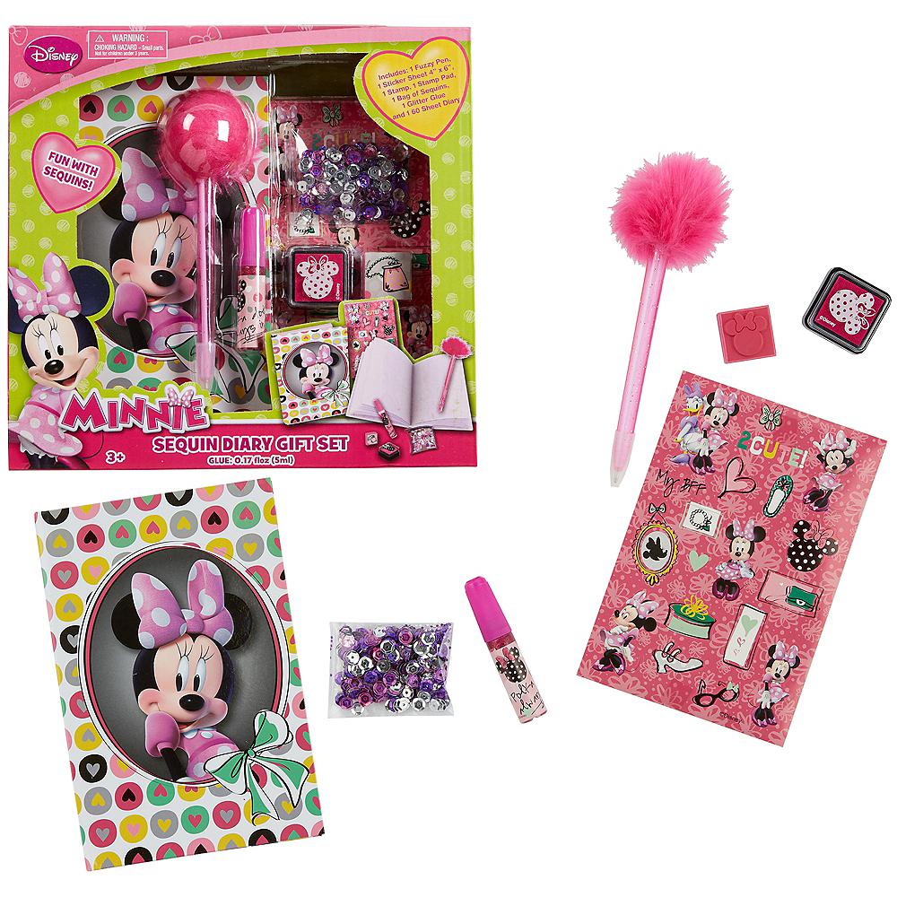 Minnie Mouse Diary Set 7pc Image #1