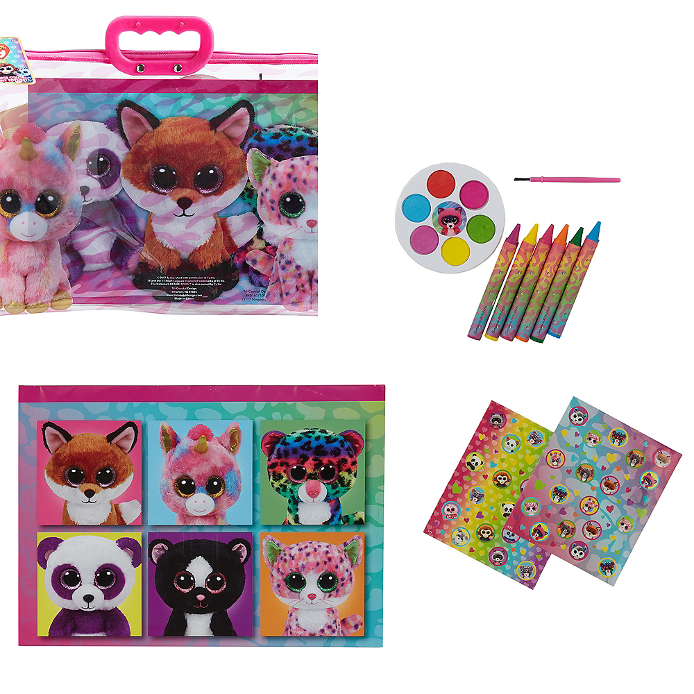 Beanie Boo Art Set with Tote 12pc Image #1