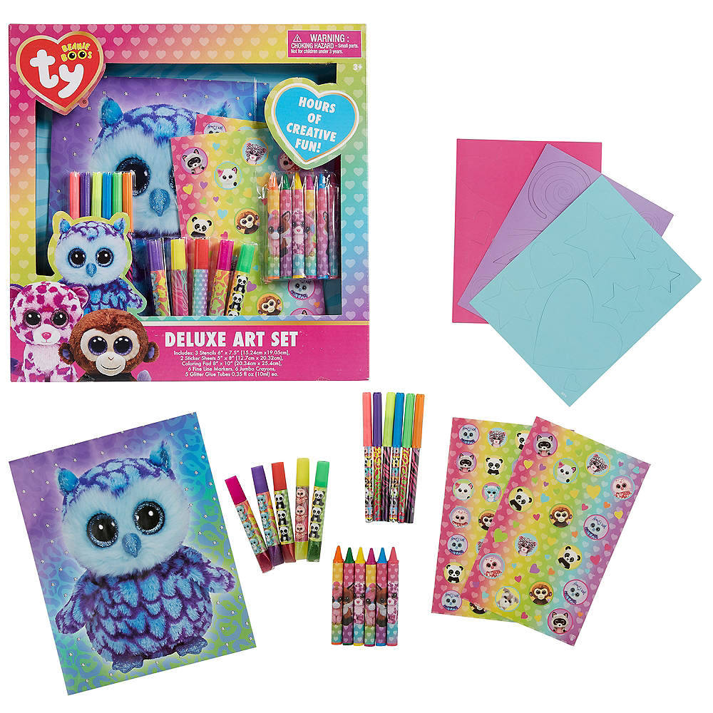 Beanie Boo Art Set 23pc Image #1