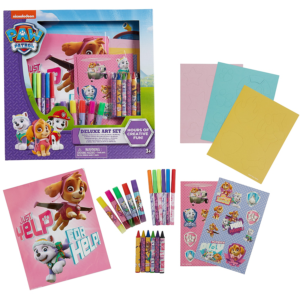 PAW Patrol Art Set 23pc Image #1