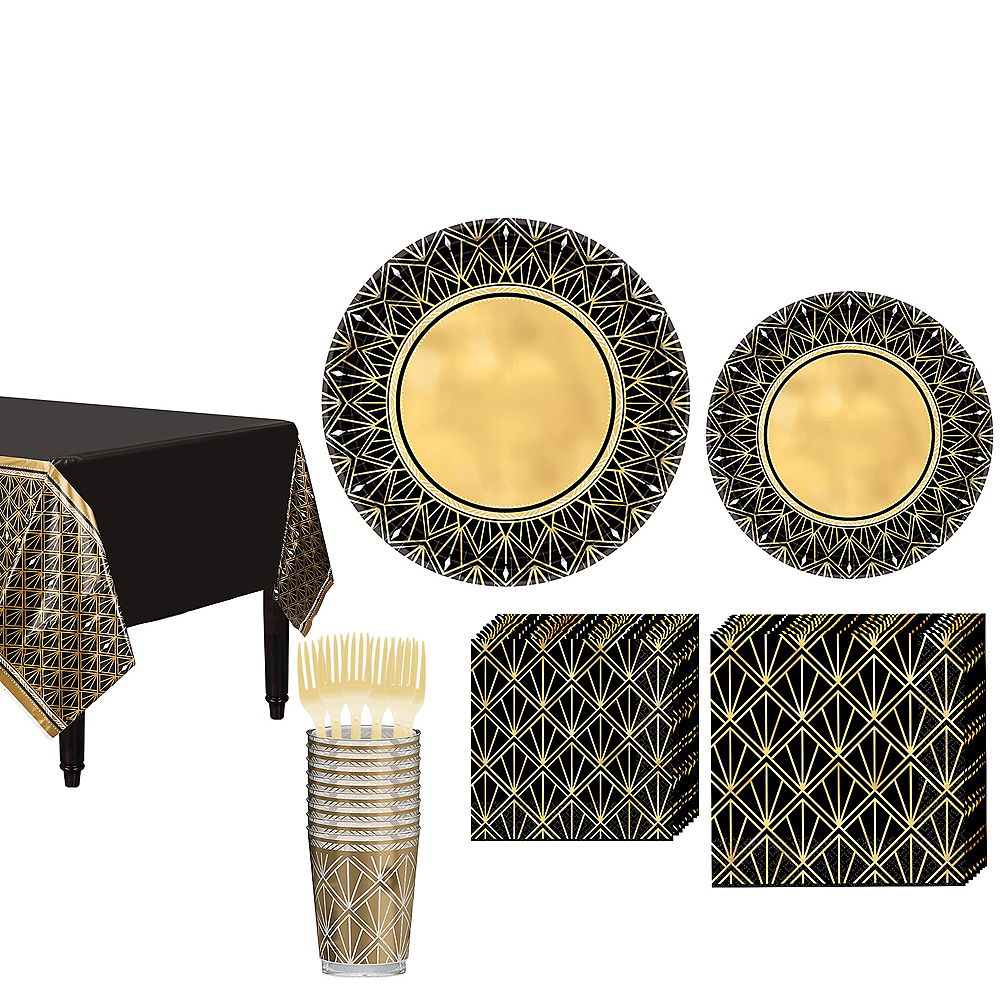 Hollywood Tableware Kit for 16 Guests Image #1