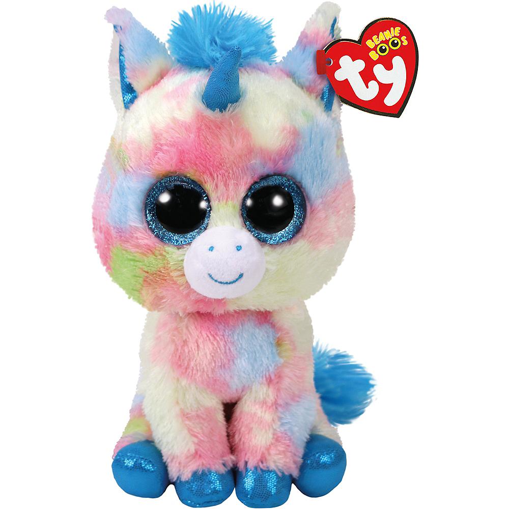 dc7c0f5e91c Blitz Beanie Boo Unicorn Plush. See All Plush Toys. 2 3 4in x 6 1 4in ...