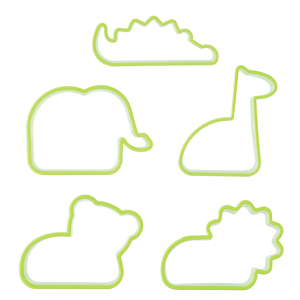 Animal Cookie Cutters with Feet 29pc Image #2