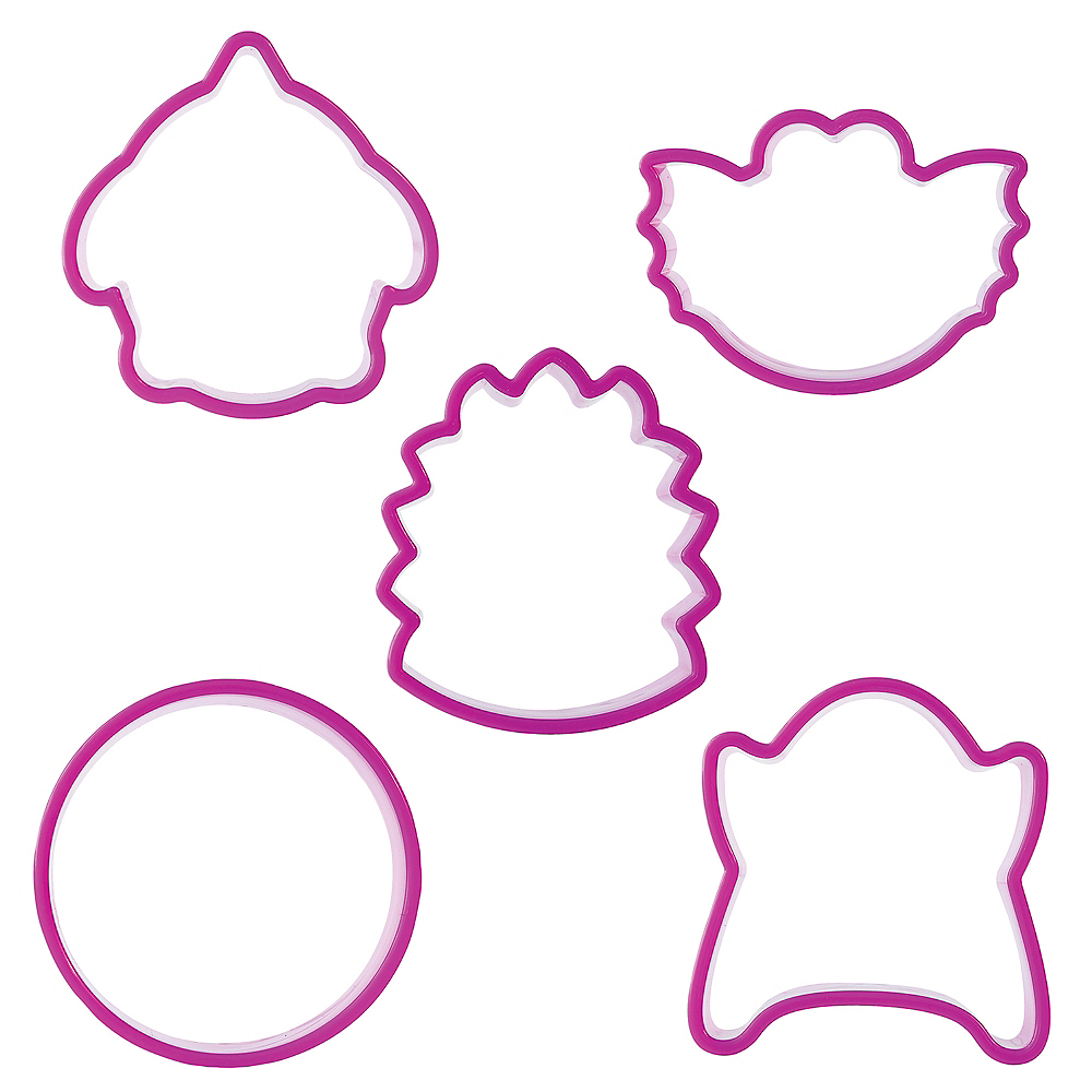 Bakelicious Monster Cookie Cutters with Feet 29pc Image #2