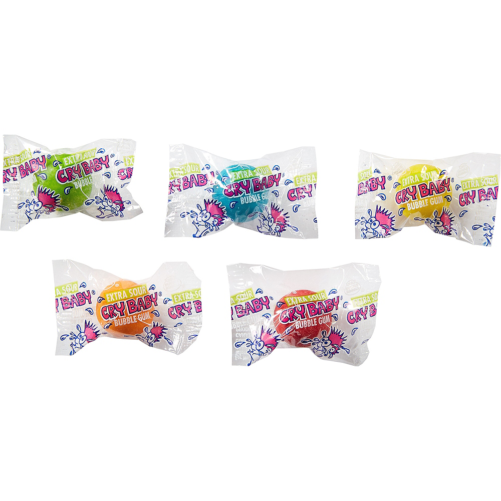Cry Baby Extra Sour Bubble Gum 61pc Image #2
