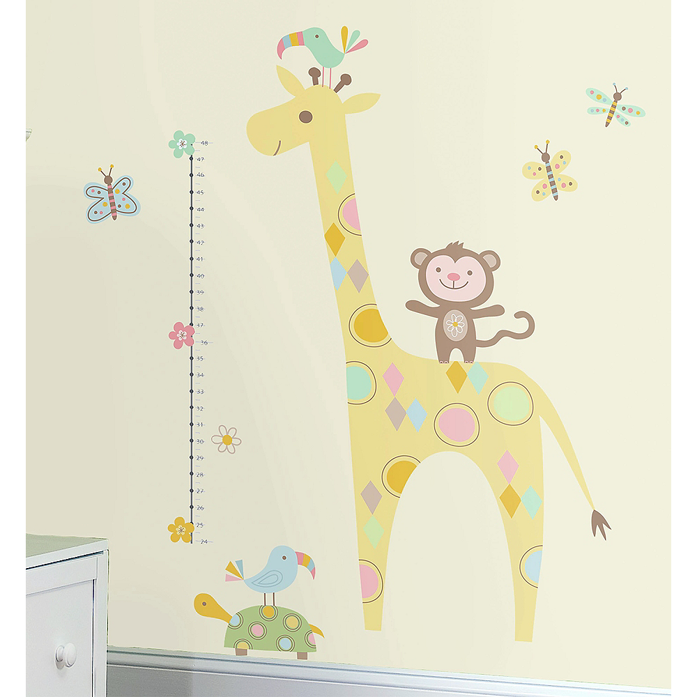 Jungle Animals Wall Decals 19ct Party City