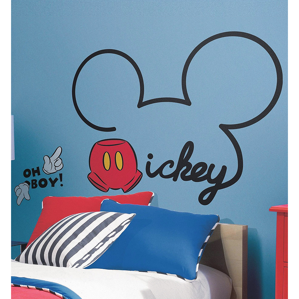 Mickey Mouse Wall Decals 10ct Party City