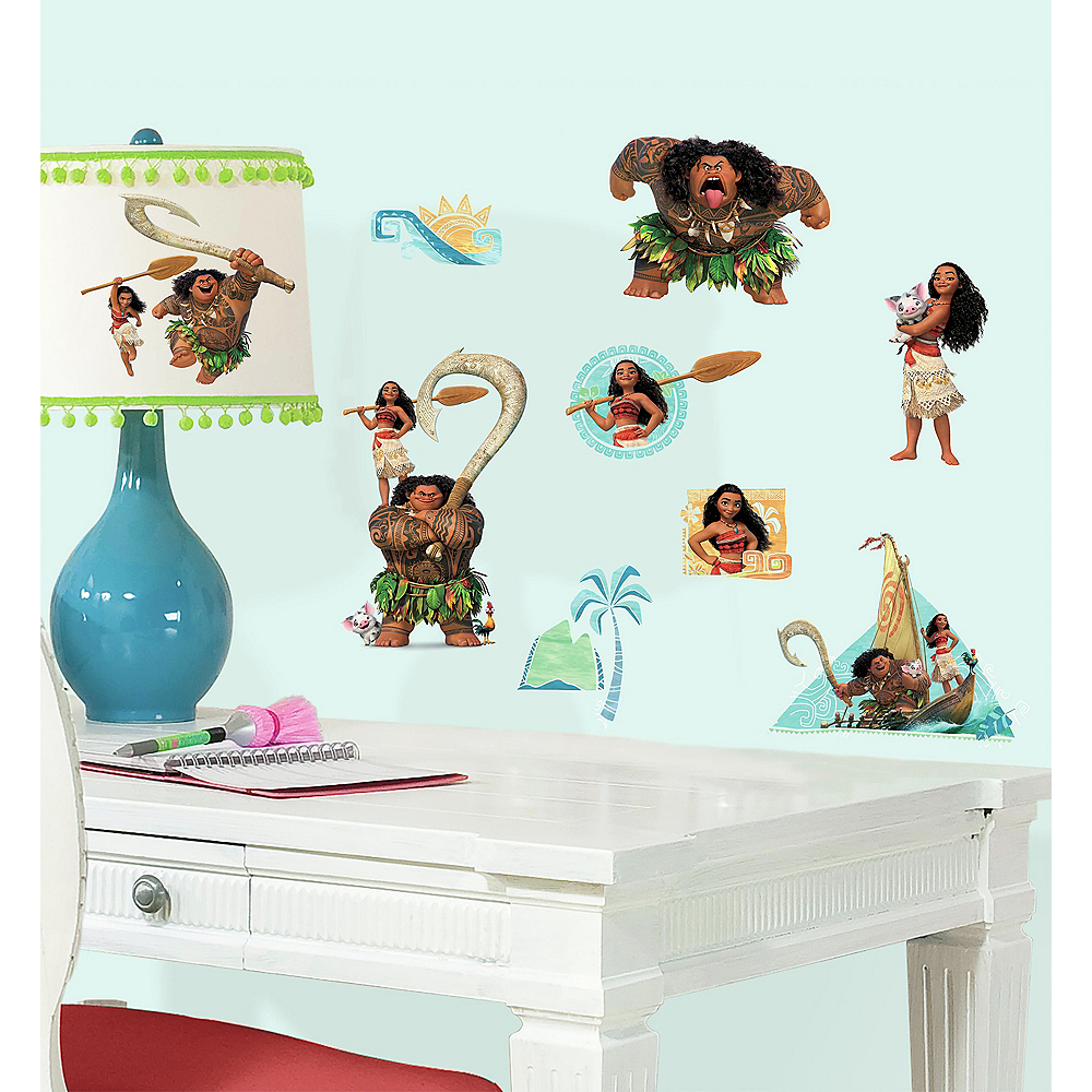 Moana Wall Decals 25ct | Party City