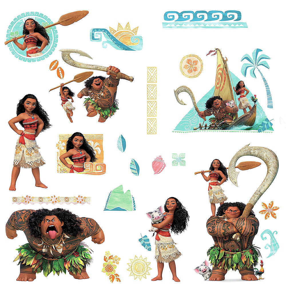 Moana Wall Decals 25ct Image #2