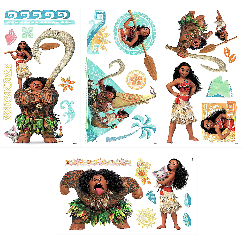 Moana Wall Decals 25ct Image #3