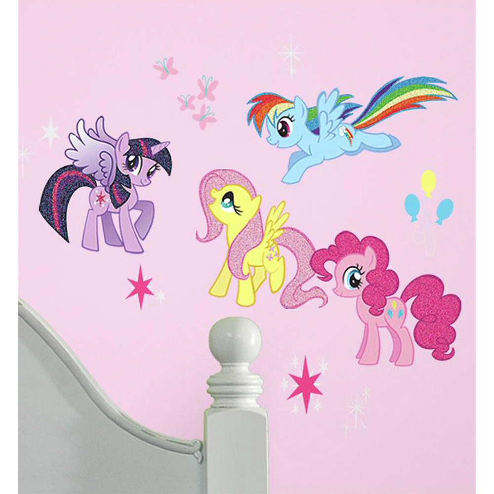 My Little Pony Wall Decals 31ct Image #1