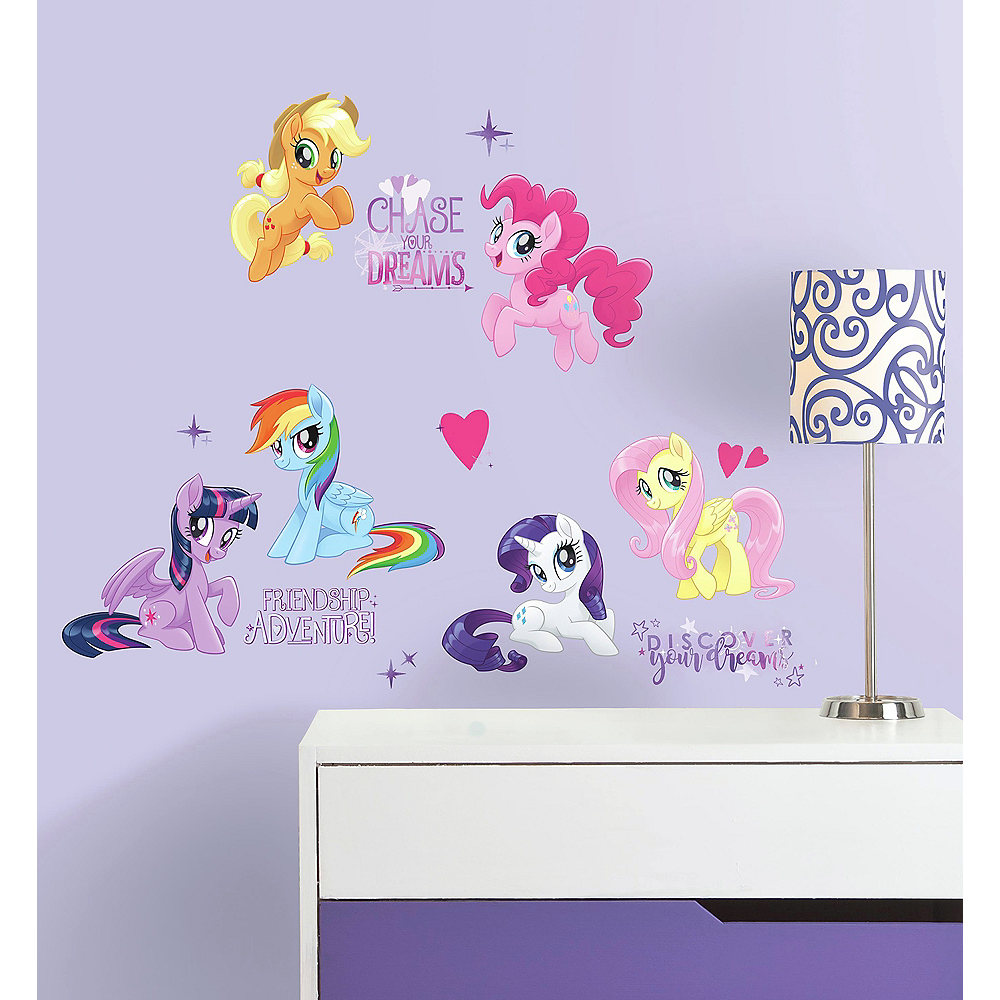 My Little Pony The Movie Wall Decals 18ct Image #1