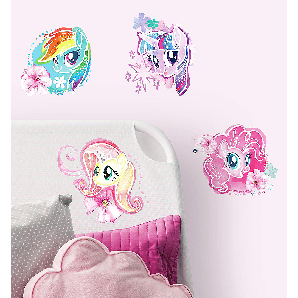 My Little Pony The Movie Wall Decals 4ct Image #1